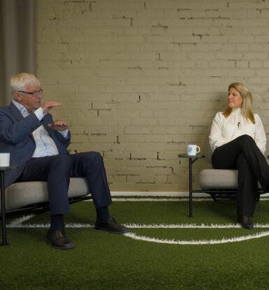 Kjell Berggren och Hanna Lassing